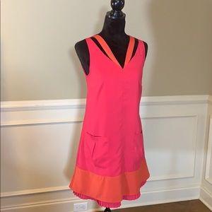 ✨NWT✨ Altar'd State V-Neck Layered Shift Dress